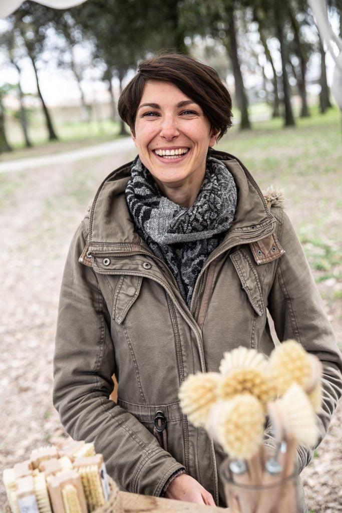 Harmonie Guéret, créatrice de savons artisanaux