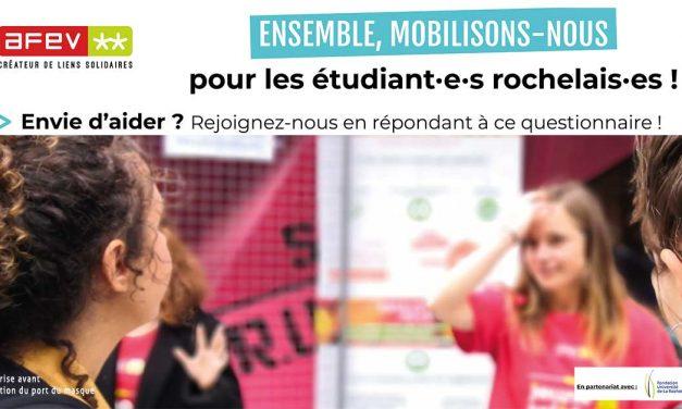 A La Rochelle, l'Afev centralise les aides aux étudiants