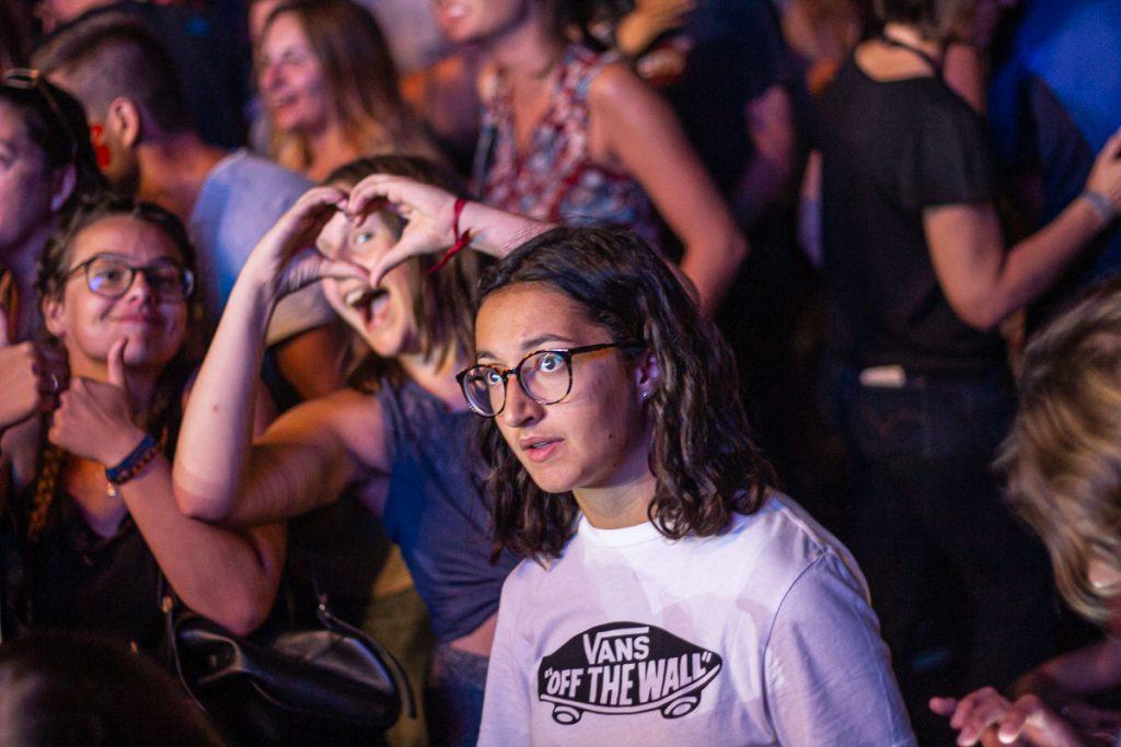 public de concert