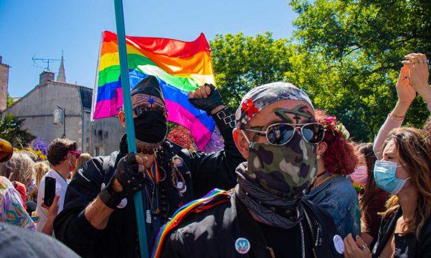 Galerie photo : marche des fiertés à La Rochelle
