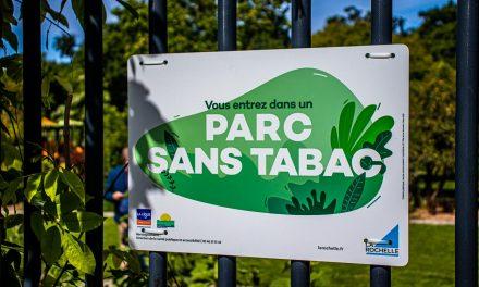 A La Rochelle, des parcs sans vapotage ni tabac