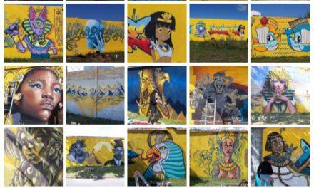 Du street art colorise le Gabut et La Pallice