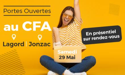 Centre de Formation des Apprentis CMA 17  : portes ouvertes du 29 mai