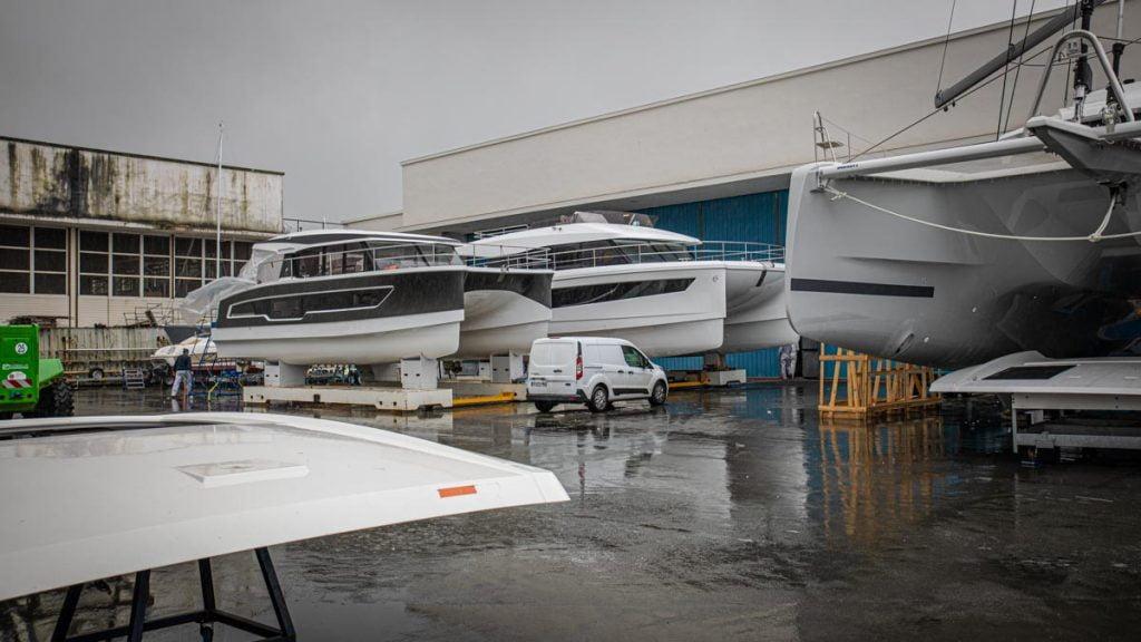catamarans Fountaine-Pajot