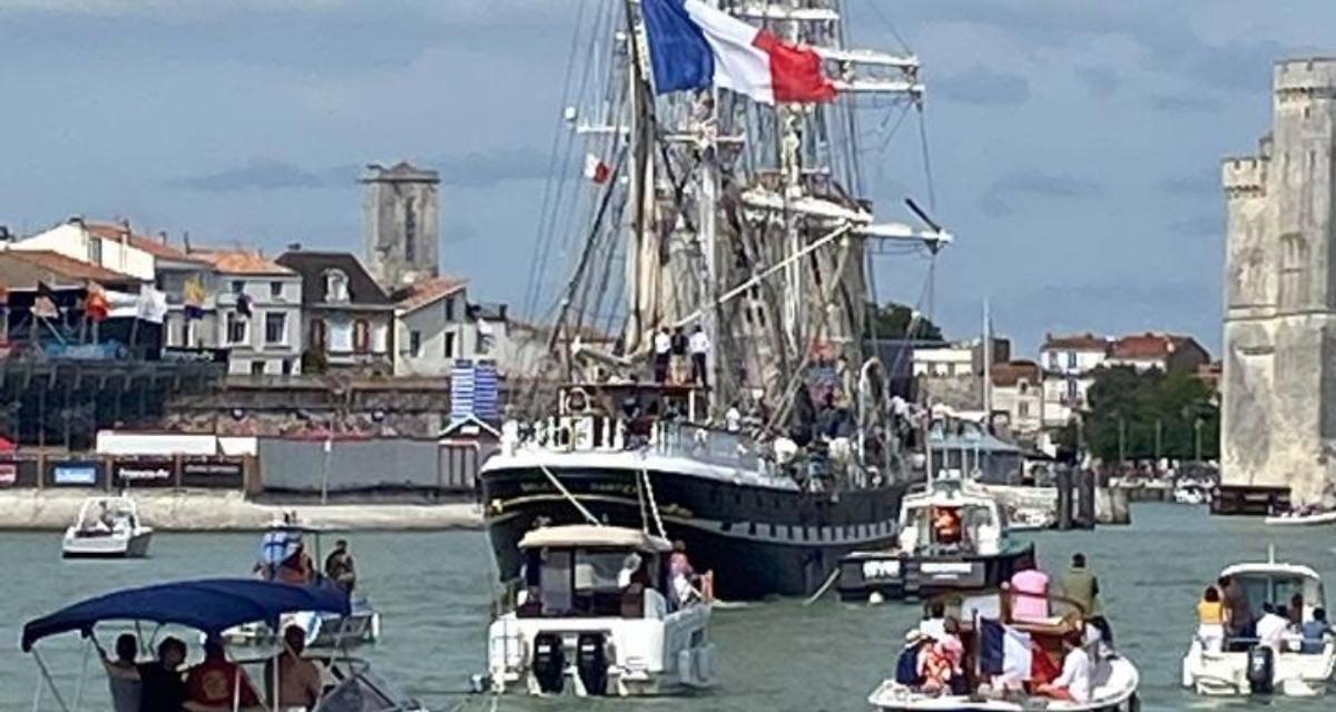 Vos photos du Bélem à La Rochelle