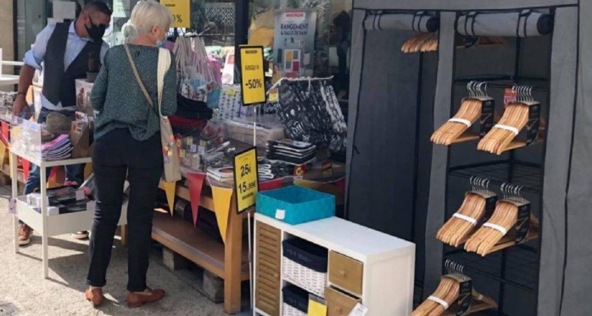 La braderie des commerçants de La Rochelle les samedis 31 juillet et 14 août