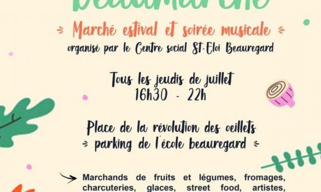 Un marché semi-nocturne dans le quartier saint-Eloi à La Rochelle