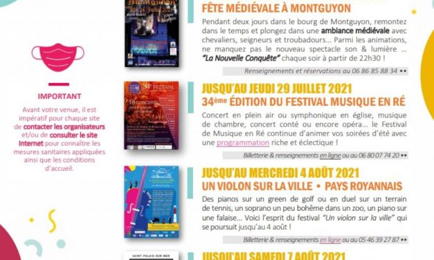 Charente-Maritime : quatre idées de spectacles à retenir