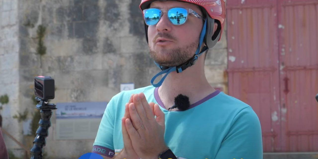 Amixem : sa vidéo sur La Rochelle fait le buzz en quelques heures