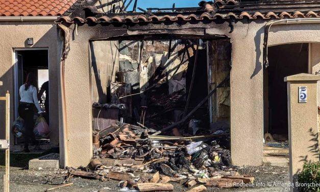 Un incendie à Saint Medard d'Aunis