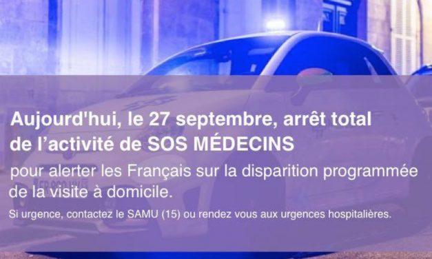 SOS Médecins La Rochelle est en grève ce lundi et arrête les visites à domicile à partir du 28 septembre