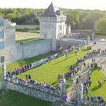 Le trail au chateau de La Roche Courbon ce week-end