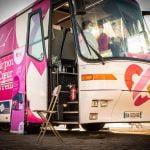Le bus du coeur fait halte à La Rochelle du 27 au 29 octobre
