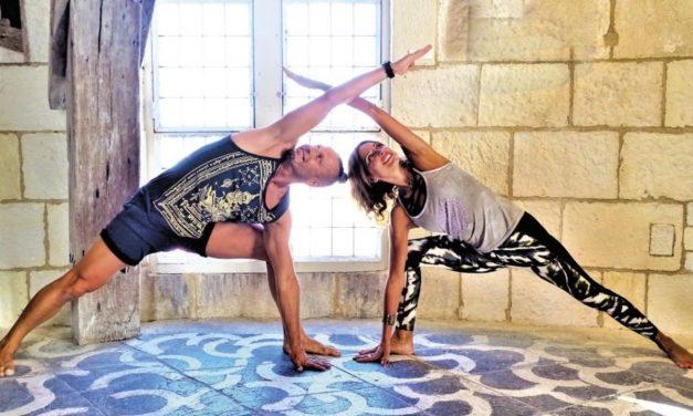 Deux séances de yoga dans la tour de la Lanterne